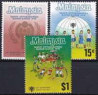MALAYSIA 1979 Mi-Nr. 199/01 ** MNH - JAHR DES KINDES - YEAR OF THE CHILD - Malesia (1964-...)