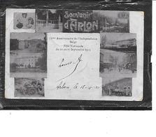 Europe-Belgique-ARLON-Carte A Vues Multiples-75e Anniversaire De L'Independance Belge-Voiture à Chien - Arlon