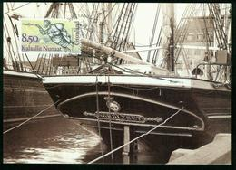 "Mk Greenland Maximum Card 1994 MiNr 253 | Figureheads From Greenlandic Ships, ""Nordlyset"" (Johan Heldt) - Cartes-Maximum (CM)"