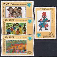JAMAICA 1979 Mi-Nr. 462/65 ** MNH - JAHR DES KINDES - YEAR OF THE CHILD - Jamaica (1962-...)