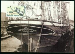 Mk Greenland Maximum Card 1994 MiNr 252 | Figureheads From Greenlandic Ships, Ceres (William Moen) - Cartes-Maximum (CM)