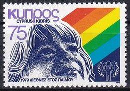 ZYPERN 1979 Mi-Nr. 511 ** MNH - JAHR DES KINDES - YEAR OF THE CHILD - Ungebraucht