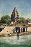 Temple At Ramnagar, Benares. INDIA // INDE. - India