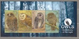 AUSTRALIA 2016 Birds Owls Block Used (o) #24713 - Blocs - Feuillets
