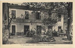 CPA - 06 - La Manda - Café Restaurant De Colomars - - Autres Communes