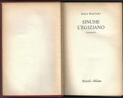 """SINUHE L'EGIZIANO Di Mika Waltari-ediz.Rizzoli """"collana SIDERA"""" 1955-pp.539--------(1856E) - Libri, Riviste, Fumetti"""