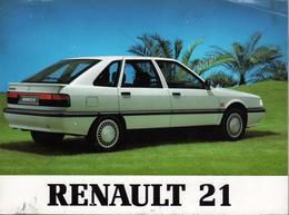 Pochette Renault 21 1990 - 2 Guide Notice Conduite Confort & Entretien édité Par Imprimerie Renault 3e édition Française - Auto