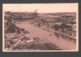 Namur - Vue Sur La Ville Et Confluent De Sambre Et Meuse - Cachet Sabena - Namur