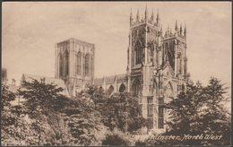 North West, York Minster, Yorkshire, C.1920 - Frith's Postcard - York