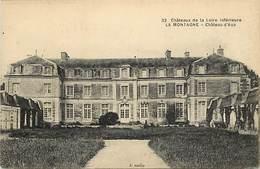 - Loire Atlantique -ref-C116- La Montagne - Chateau D Aux - Chateaux - Carte Bon Etat - - La Montagne
