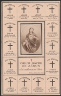 Baronne Jenny Catherine Andrée Parthon De Von-bruxelles 1911 - Devotieprenten