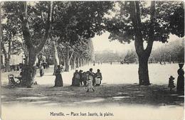 CPA - 13  - Marseille -  Place Jean Jaurès - Canebière, Centro