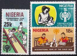 NIGERIA 1979 Mi-Nr. 359/61 ** MNH - JAHR DES KINDES - YEAR OF THE CHILD - Nigeria (1961-...)