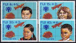 FIJI 1979 Mi-Nr. 416/19 ** MNH - JAHR DES KINDES - YEAR OF THE CHILD - Fiji (1970-...)