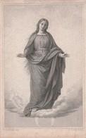 Baronne Elisabeth Marie Eugénie Joseph De Robiano-chateau De Tervueren-1864 - Devotieprenten