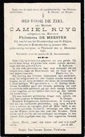 Elversele, Tielrode, 1930, Camiel Ruys, De Meester - Andachtsbilder