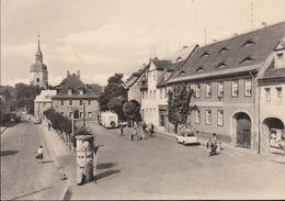 D-06246 Bad Lauchstädt - Marktplatz - Alter Bus - Car - Merseburg