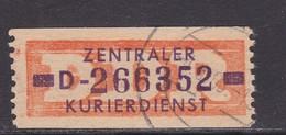 ZKD Wertstreifen Dienstmarken-B Michel Nr. 22 D - Servizio