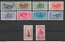 Italia - Italy 1932 Mi. Nr.391-400 - 1900-44 Victor Emmanuel III