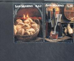 CEPT Gastronomie San Marino 2192 - 2193 MNH ** Postfrisch - Europa-CEPT