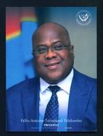CONGO DR  - The President (2019) Unused Postcard As Scans - Congo - Kinshasa (ex Zaire)