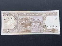 AFGHANISTAN P66 5 AFGHANIS 2002 UNC - Afghanistan