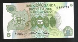 UGANDA - BANK Of UGANDA - 5 SHILLINGS - Uganda