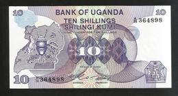 UGANDA - BANK Of UGANDA - 10 SHILLINGS - Uganda