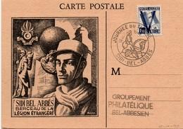 Sidi-Bel-Abbès 1946 - Journée Du Timbre - Berceau De La Légion - Algérie (1924-1962)