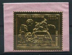 RC 14894 GABON TIMBRE EN OR - GOLD STAMP APOLLO X1 ESPACE SPACE NEUF ** MNH TB - Gabun (1960-...)