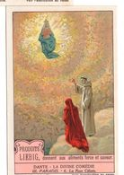"S1227- CHROMO LIEBIG - 1929 -  "" DANTE LA DIVINE COMEDIE III. PARADIS "" : 6. LA ROSE CELESTE - Liebig"
