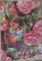 Petit Calendrier De Poche 2007 Illustration C Graniou Fleur  Pivoine Bolbec - Formato Piccolo : 2001-...