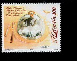 CEPT Gastronomie Schweiz 1927 MNH ** Postfrisch Neuf - Europa-CEPT