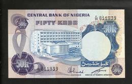 NIGERIA - CENTRAL BANK Of NIGERIA - 50 KOBO - Nigeria