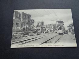 Egypt  Egypte  Alexandria  Tram  Tramway - Alexandrie
