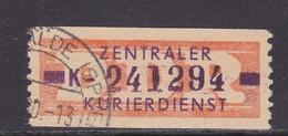 ZKD Wertstreifen Dienstmarken-B Michel Nr. 22 K - Servizio