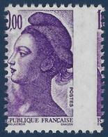 France Liberté N°2276** 10 Fr Violet Variété De Piquage Décalé Lateralement (bien Plus Rare !) Signé Calves - Errors & Oddities