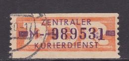 ZKD Wertstreifen Dienstmarken-B Michel Nr. 22 M - DDR