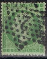 N°20 Etoile 2 Un Coin Usé, Belle Frappe - 1862 Napoléon III