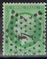 N°20 Etoile 4 Quelques Dents Courtes, Très Belle Frappe - 1862 Napoléon III