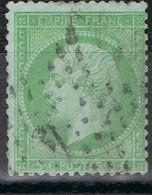 N°20 Etoile 4 Ex24 Bien Frappe Correcte - 1862 Napoléon III