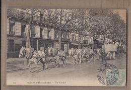 CPA 75 - PARIS - SCENES PARISIENNES - Un Fardier - SUPERBE GROS PLAN Métier - TB ATTELAGE Chevaux + Oblitération - Altri
