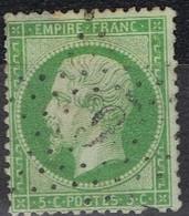 N°20 Etoile 6P2 Bien Frappe Correcte, Manque Une Dent En Bas - 1862 Napoléon III