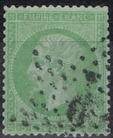 N°20 Etoile 9 Bien Frappe Lisible, Bon Timbre - 1862 Napoléon III