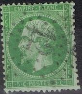N°20 Etoile 12 Bien Frappe Lisible, Bon Timbre - 1862 Napoléon III