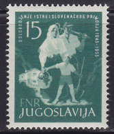 Yugoslavia 1953, 10th Anniversary Of Liberation Of Istria And Slovene Coast, MNH (**) Michel 733 - 1945-1992 Socialist Federal Republic Of Yugoslavia