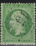 N°20 Etoile 15 Belle Frappe, Très Bon Timbre - 1862 Napoléon III