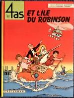Les 4 As  N° 9 - Les 4 As Et L'île Du Robinson - Casterman - ( 1984 ) - 4 As, Les