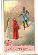 "S1227- CHROMO LIEBIG - 1929 -  "" DANTE LA DIVINE COMEDIE III. PARADIS "" : 2. CHARLES MARTEL - Liebig"