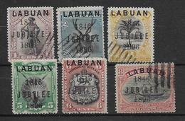Labuan N°65/70 - Oblitérés - TB - Asia (Other)